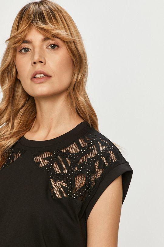 čierna Desigual - Tričko