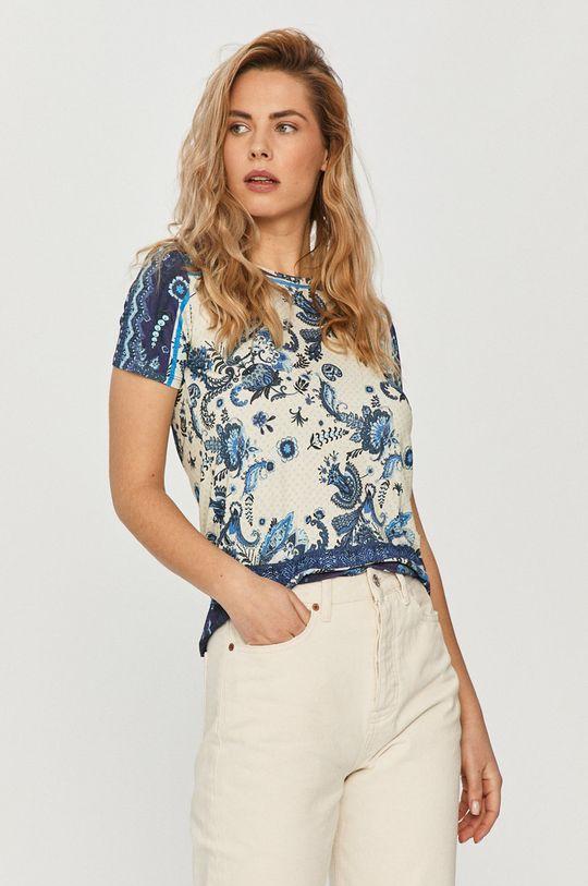 multicolor Desigual - T-shirt Damski