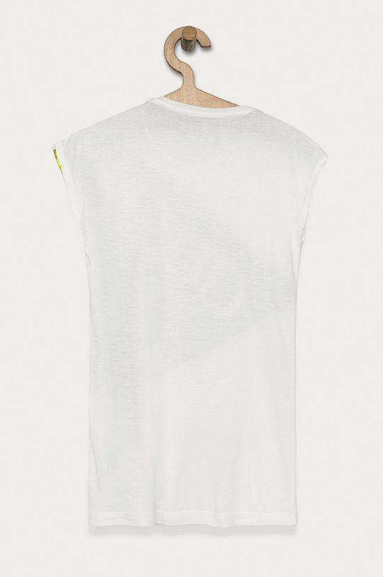 Guess Jeans - T-shirt dziecięcy 116-176 cm biały