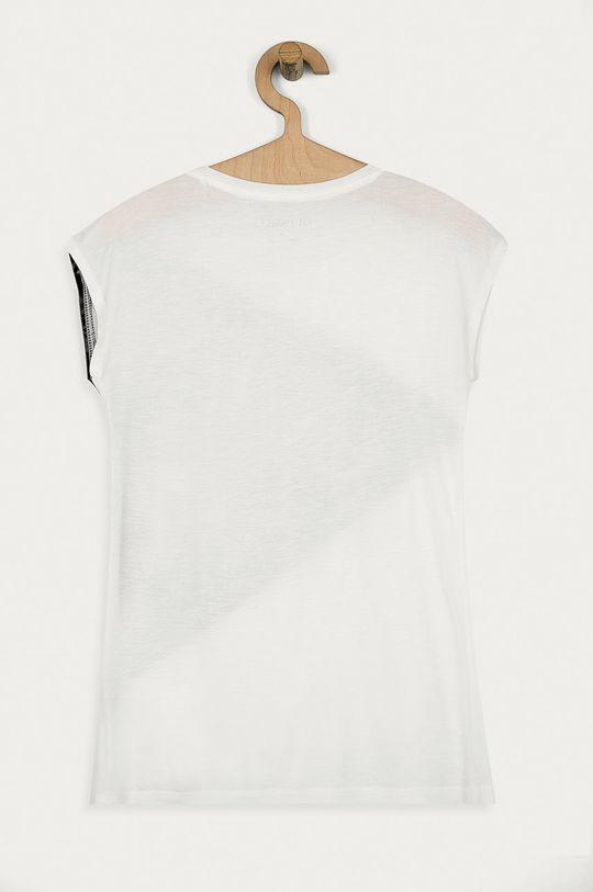 Guess Jeans - T-shirt dziecięcy 116-176 cm czarny