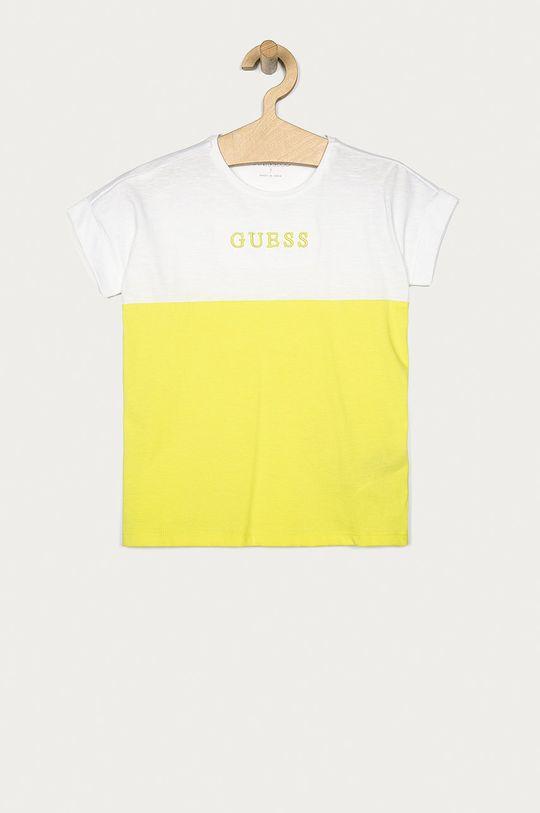 svetlozelená Guess Jeans - Detské tričko 116-175 cm Dievčenský
