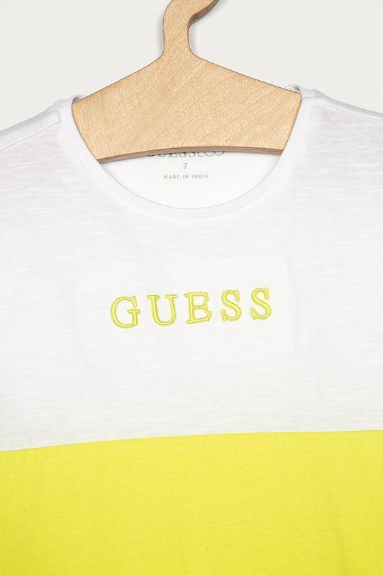 Guess Jeans - Detské tričko 116-175 cm svetlozelená