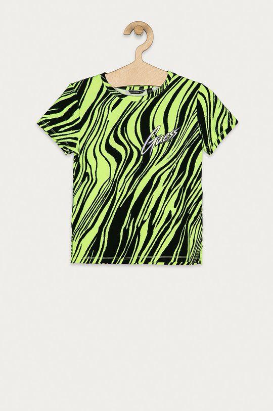 žlutě zelená Guess Jeans - Dětské tričko 116-176 cm Dívčí