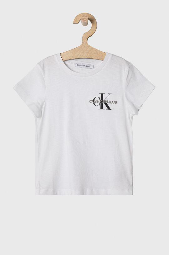 bílá Calvin Klein Jeans - Dětské tričko 104-176 cm Dívčí