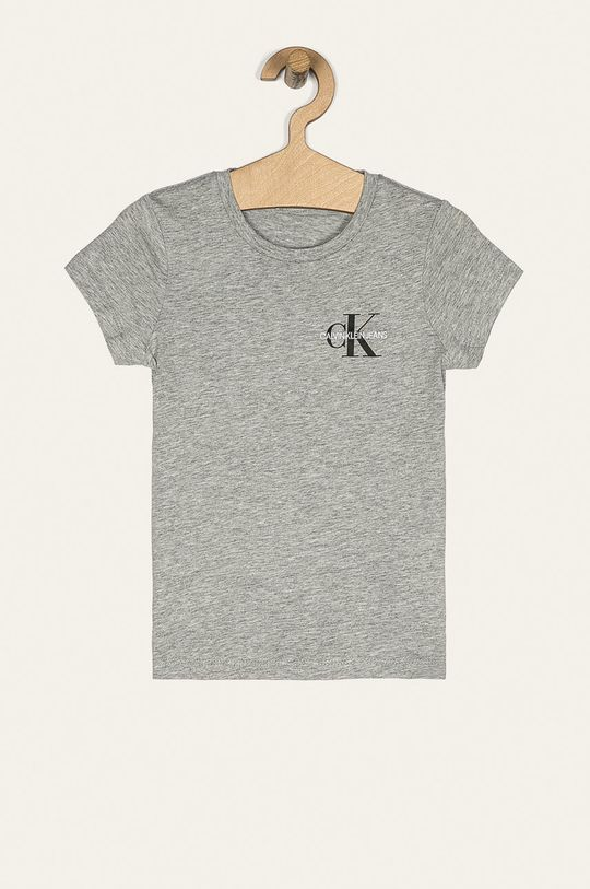 světle šedá Calvin Klein Jeans - Dětské tričko 104-176 cm Dívčí