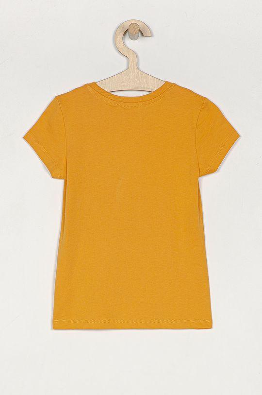 Calvin Klein Jeans - Dětské tričko 104-176 cm hořčicová