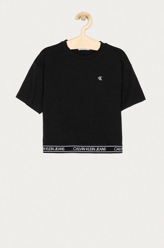 černá Calvin Klein Jeans - Dětské tričko 128-176 cm Dívčí