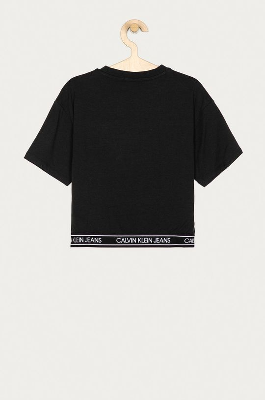Calvin Klein Jeans - Dětské tričko 128-176 cm  47% Bavlna, 6% Elastan, 47% Modal