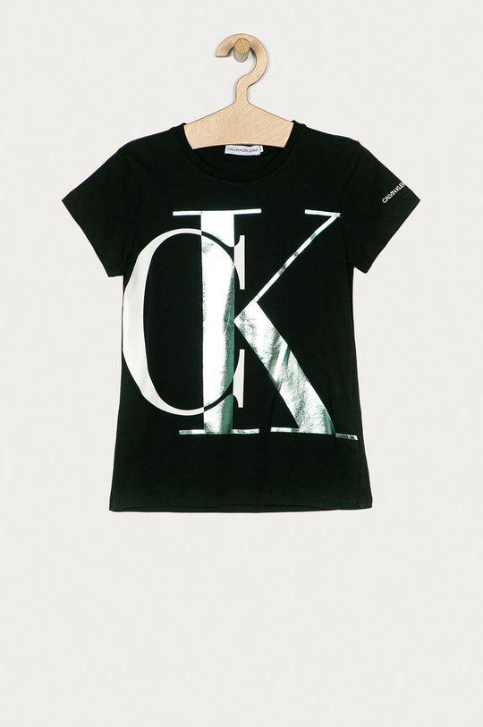 negru Calvin Klein Jeans - Tricou copii 128-176 cm De fete