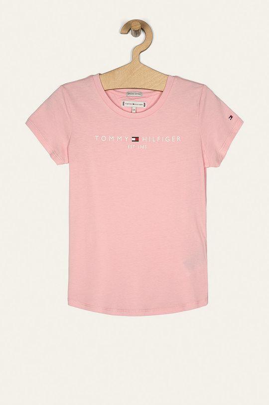 roz pastelat Tommy Hilfiger - Tricou copii 74-176 cm De fete
