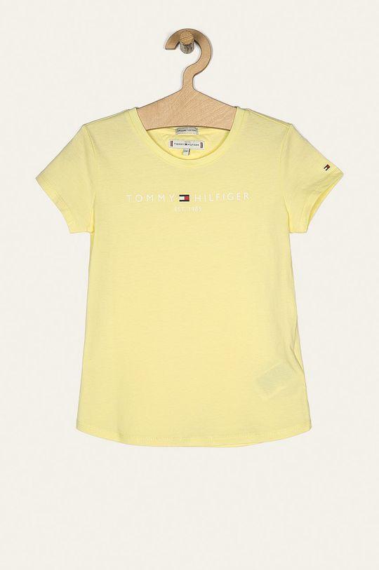jasně žlutá Tommy Hilfiger - Dětské tričko 74-176 cm Dívčí