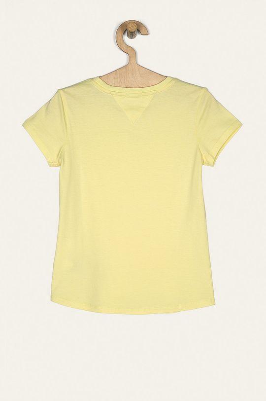 Tommy Hilfiger - Dětské tričko 74-176 cm jasně žlutá