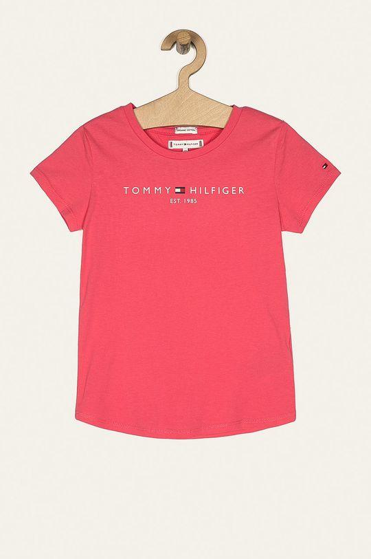 różowy Tommy Hilfiger - T-shirt dziecięcy 74-176 cm Dziewczęcy