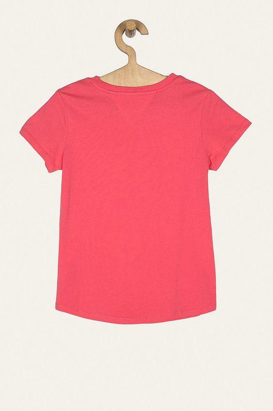 Tommy Hilfiger - T-shirt dziecięcy 74-176 cm różowy