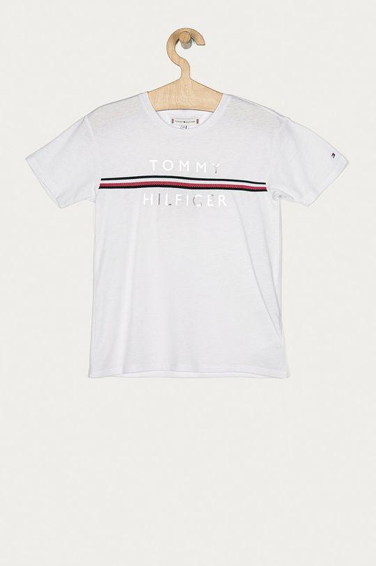 bílá Tommy Hilfiger - Dětské tričko 104-176 cm Dívčí