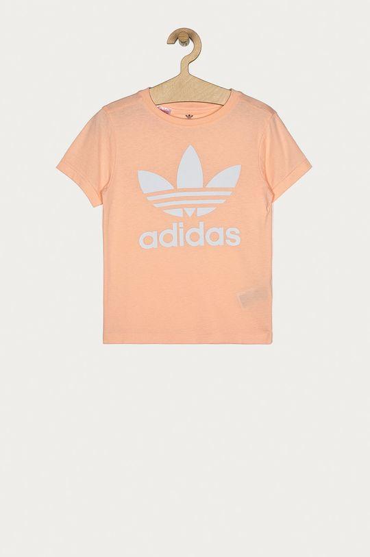 ružová adidas Originals - Detské tričko 128-164 cm Dievčenský