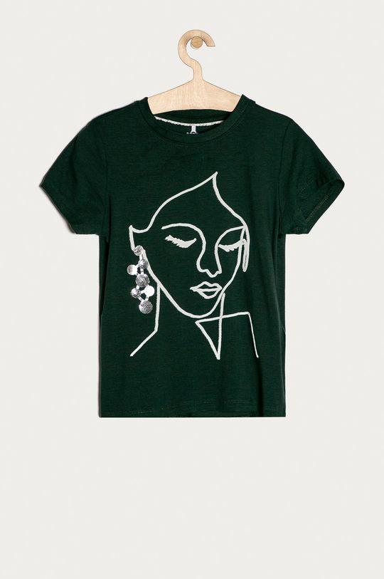 зелена сталь Name it - Дитяча футболка 116-152 cm Для дівчаток