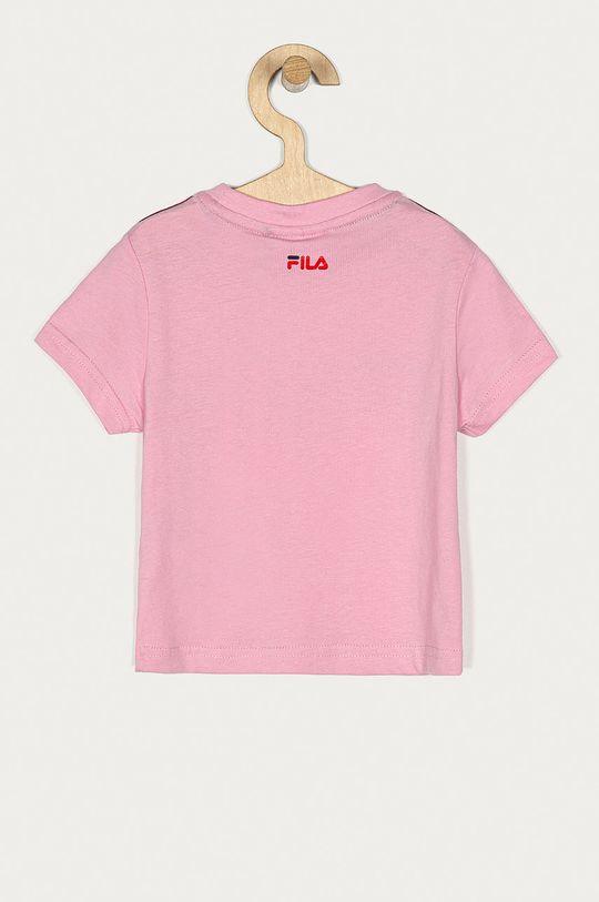 Fila - T-shirt dziecięcy różowy