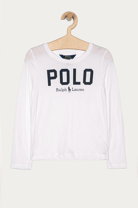 bílá Polo Ralph Lauren - Dětské tričko s dlouhým rukávem 128-176 cm Dívčí