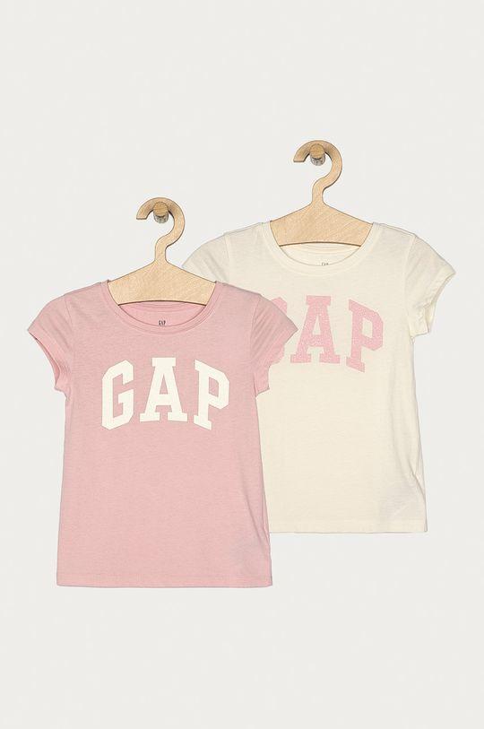 růžová GAP - Tričko 104-176 cm (2-pack) Dívčí