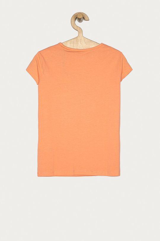 Pepe Jeans - Tricou copii Aquaria 128-180 cm portocaliu