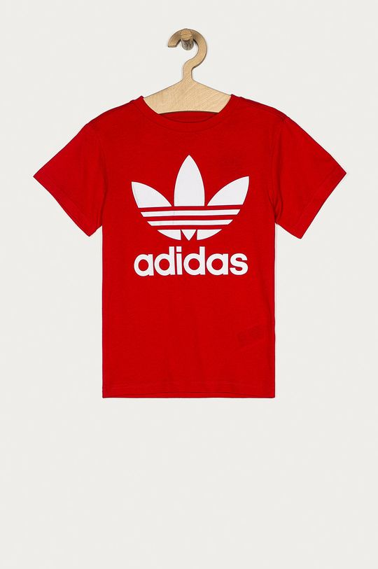 červená adidas Originals - Detské tričko 128-164 cm Detský