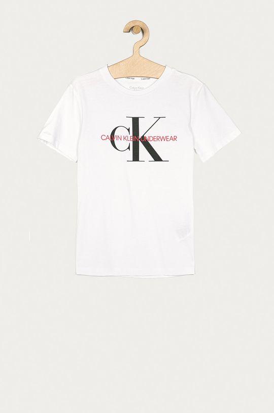 alb Calvin Klein Underwear - Tricou copii 128-176 cm De copii
