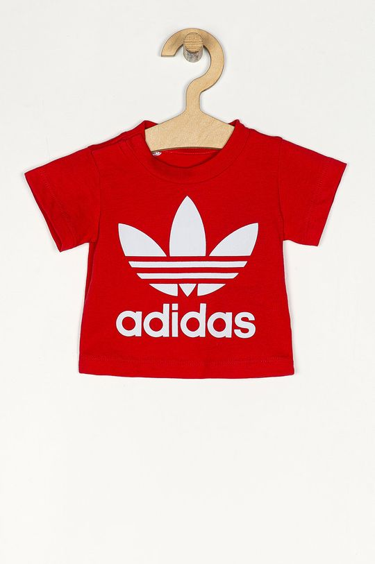 červená adidas Originals - Detské tričko 62-104 cm Detský