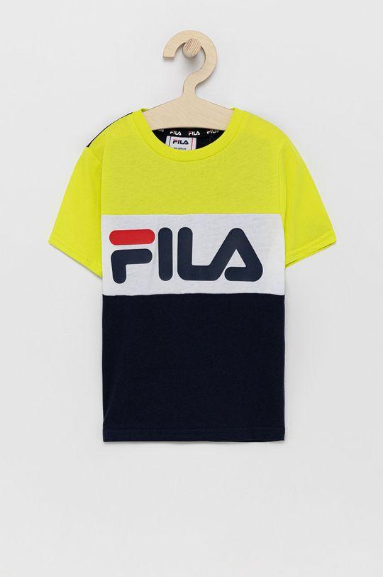 čierna Fila - Detské tričko 86-128 cm Detský