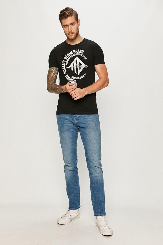 Tom Tailor Denim - T-shirt czarny
