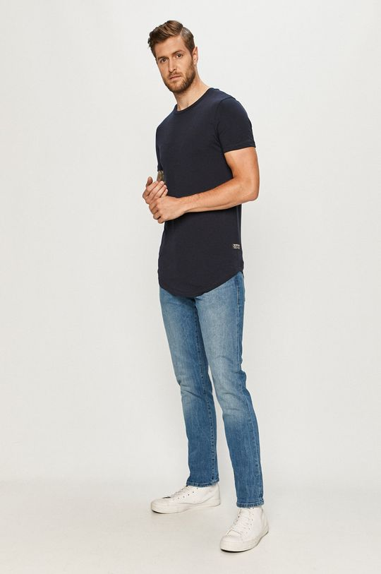 Tom Tailor Denim - Tricou bleumarin