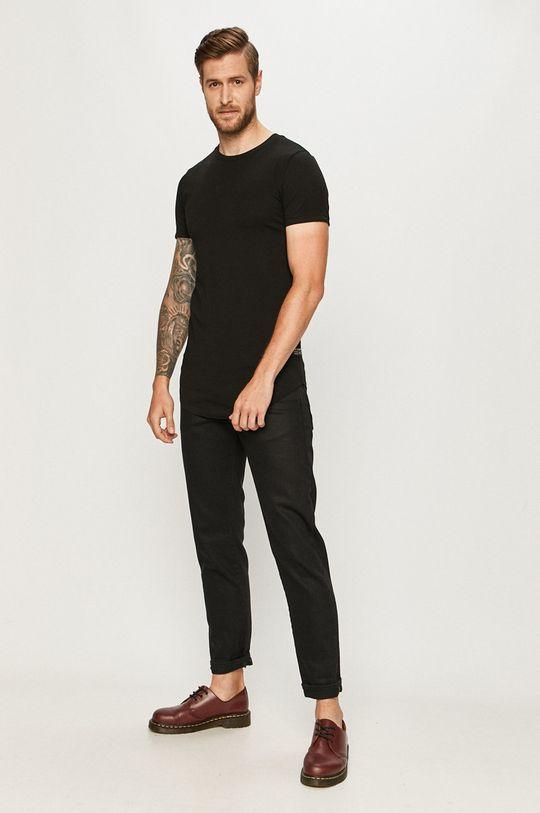 Tom Tailor Denim - Tricou negru