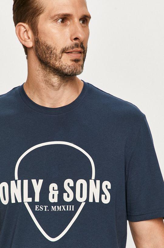 tmavomodrá Only & Sons - Tričko