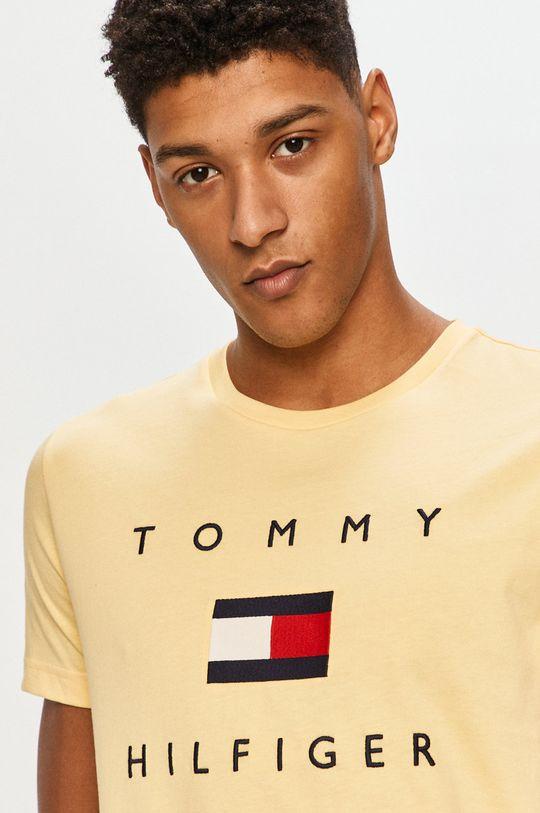 żółty Tommy Hilfiger - T-shirt
