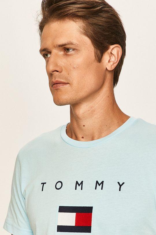 jasny niebieski Tommy Hilfiger - T-shirt