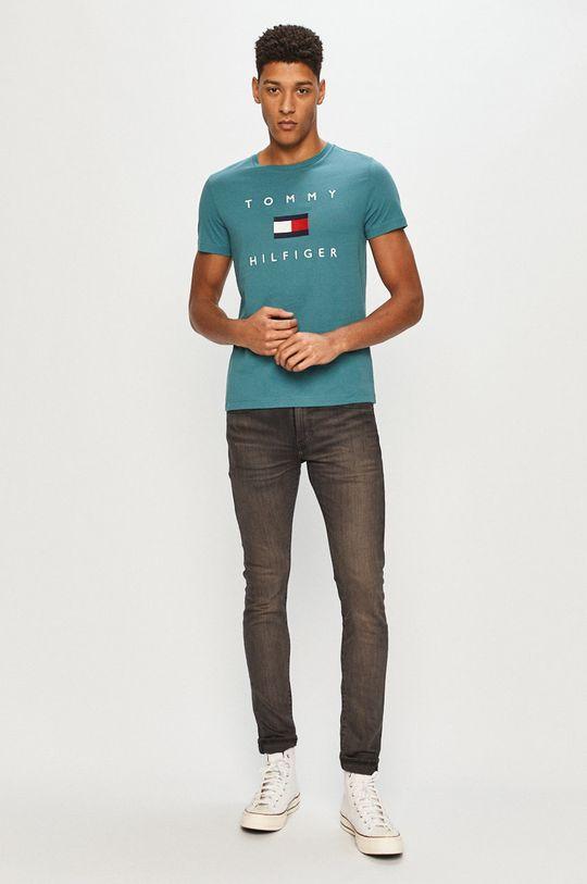 Tommy Hilfiger - T-shirt zielony