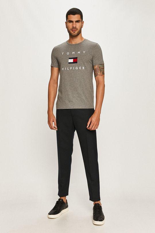 Tommy Hilfiger - T-shirt szary