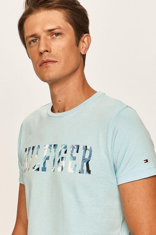 jasny niebieski Tommy Hilfiger - T-shirt Męski