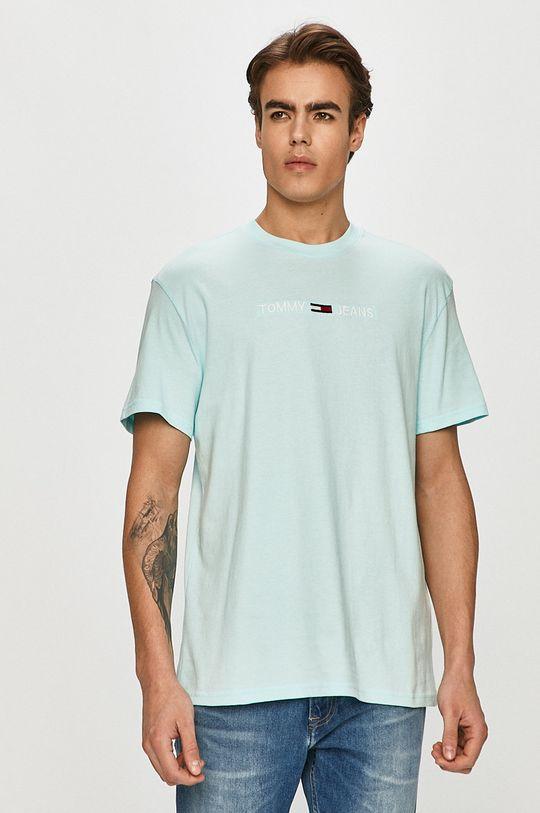 jasny niebieski Tommy Jeans - T-shirt Męski
