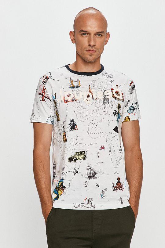 alb Desigual - Tricou De bărbați