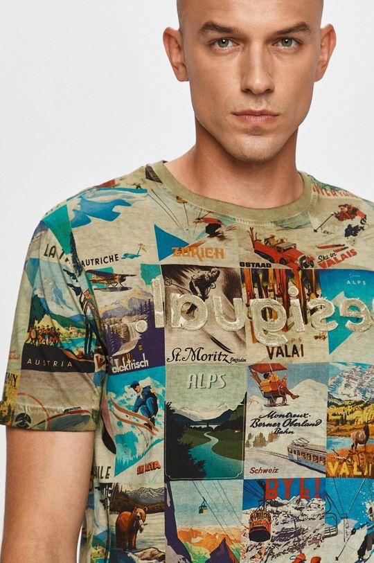 viacfarebná Desigual - Tričko