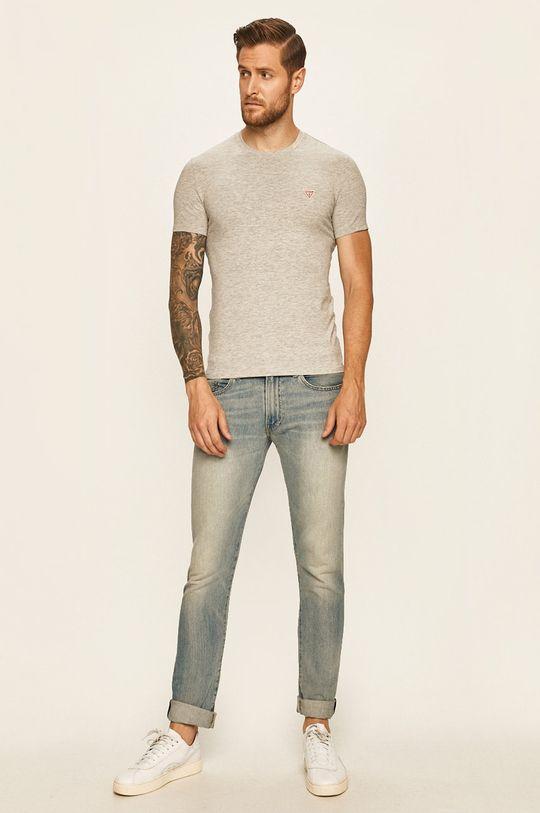 Guess Jeans - Tričko šedá