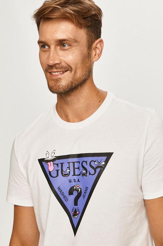 biela Guess Jeans - Tričko