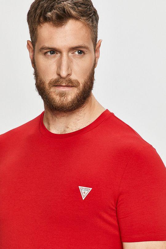 červená Guess Jeans - Tričko