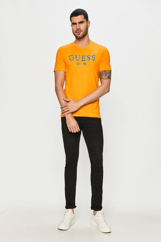 Guess Jeans - Tričko oranžová