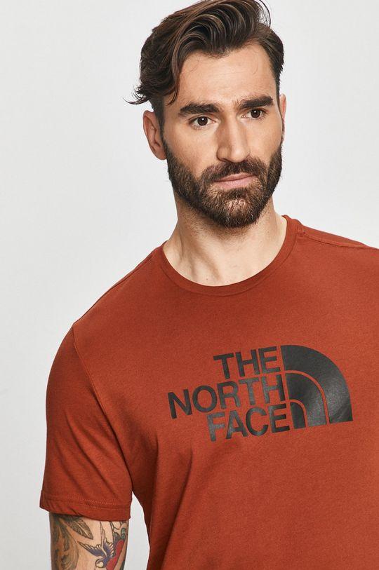 karmínová The North Face - Tričko