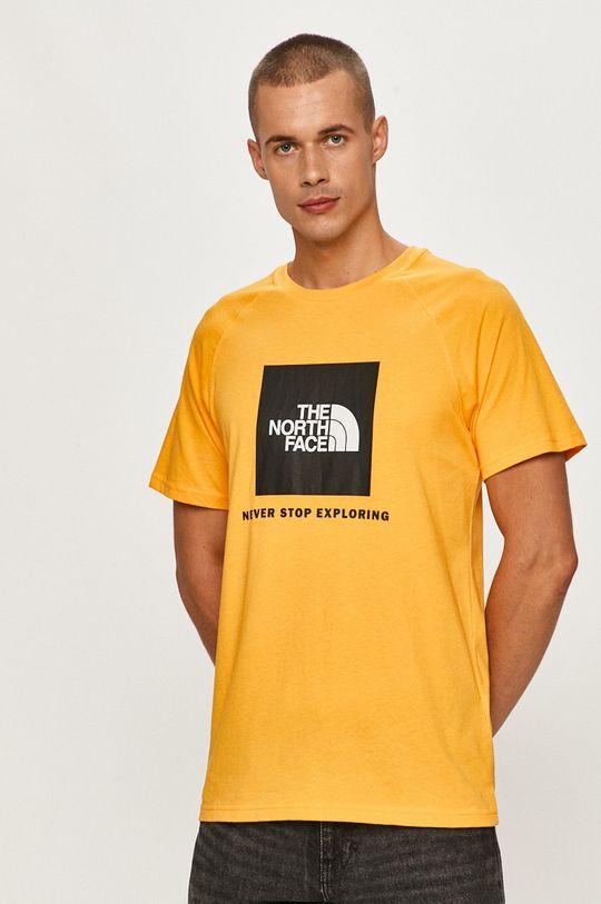 oranžová The North Face - Tričko