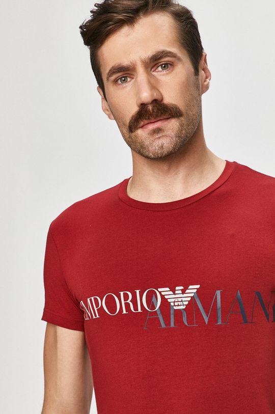 rosu Emporio Armani - Tricou De bărbați