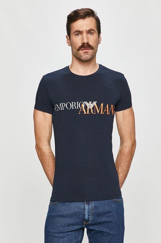 Emporio Armani - Tričko tmavomodrá