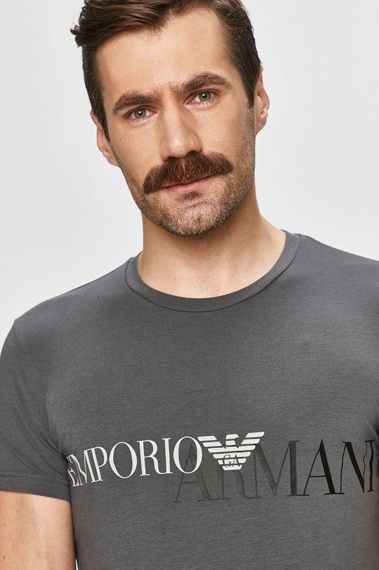 Emporio Armani - Tričko sivá